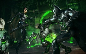 The Riddler, Batman Arkham Knight, Catwoman, Batman, Gotham City