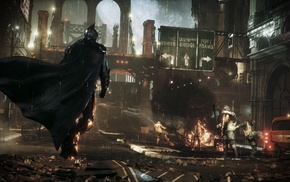 Batman Arkham Knight, Gotham City, Batman, video games