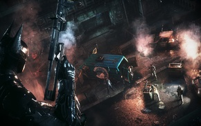 Batman Arkham Knight, Gotham City, video games, Batman