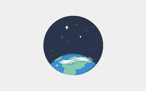 web design, Earth, icons, sky, night, icon