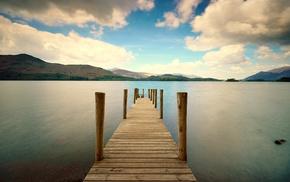 water, dock, pier
