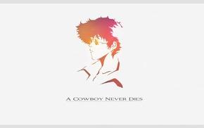 Spike Spiegel, anime, Cowboy Bebop, simple background