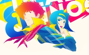 Spike Spiegel, Faye Valentine, Cowboy Bebop, anime