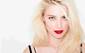 vectors, Terry Richardson, lips, vector art, Amber Heard