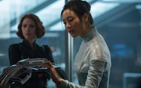 The Avengers, Avengers Age of Ultron, Scarlett Johansson, Black Widow, Claudia Kim
