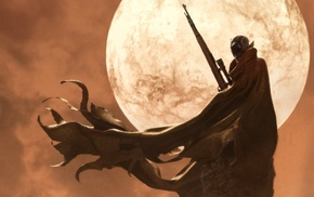 moon, snipers, science fiction