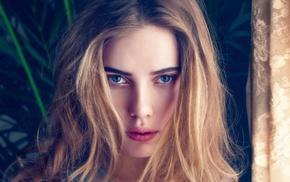 model, face, Scarlett Johansson, girl
