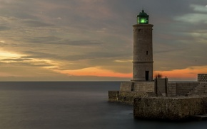 nature, lighthouse, photography, feelings, depth of field, water