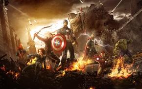 Scarlett Johansson, Spider, Man, movies, Captain America, The Vision