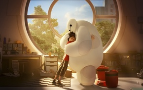 Baymax Big Hero 6, anime