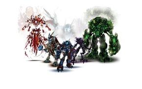 Hulk, Thor, artwork, Captain America, Iron Man, Hawkeye