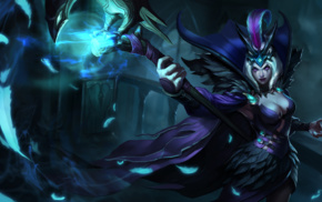 staff, video games, magician, League of Legends, LeBlanc League of Legends, fantasy art