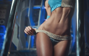 model, flat belly, Fedor Shmidt, panties, girl