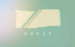 digital art, vintage, modern, ghost, abstract, minimalism