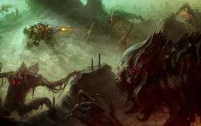 aliens, fantasy art