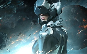 PC gaming, space, video games, EVE Valkyrie