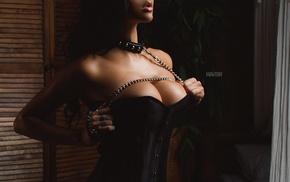 fetish, Aleksandr Mavrin, lingerie, girl, boobs
