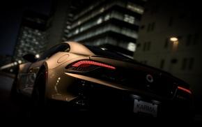 race cars, road, Fisker Karma
