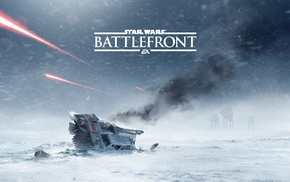 Battle of Hoth, Star Wars, Hoth, snow, Star Wars Battlefront, video games