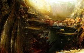 fantasy art, Guild Wars 2, concept art, Guild Wars, video games