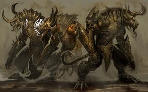 Guild Wars, video games, concept art, Guild Wars 2, fantasy art