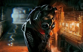 cyberpunk, science fiction
