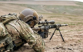 sniper rifle, soldier, snipers, rifles, military
