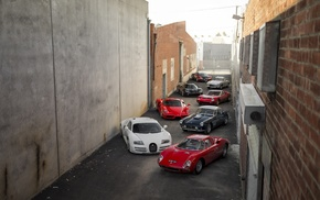 Bugatti, car, Bugatti Veyron, Mercedes, Benz, Ferrari