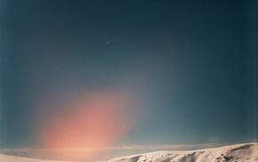 shooting stars, sky, mountain pass, volcano