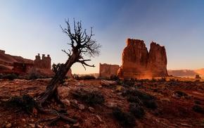 landscape, nature, Arches National Park