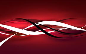 vector art, stripes, red