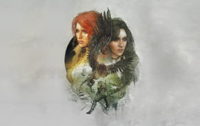 Triss Merigold, The Witcher 3 Wild Hunt, Geralt of Rivia, The Witcher