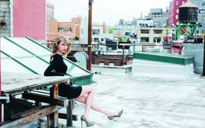 legs, rooftops, Taylor Swift