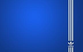 minimalism, Adidas, blue