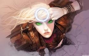 artwork, girl, Hearthstone Heroes of Warcraft