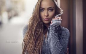 portrait, girl, face, Dani Diamond