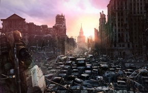 apocalyptic, Metro 2033, video games, dystopian, concept art
