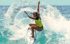surfing, sports, girl