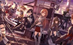 Tsuboi Ryoutarou, Sword Art Online, Shinozaki Rika, Mills Andrew Gilbert, Yui, MHCP001