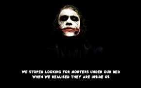 quote, Joker, The Dark Knight, typo