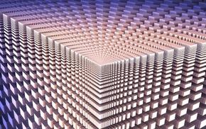 cube, optical illusion