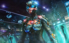 science fiction, artwork, futuristic