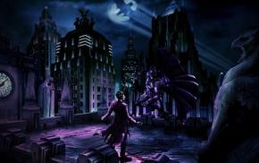 comic art, Batman, Adobe Photoshop, Joker