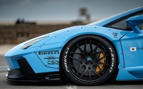LB Performance, car, Liberty Walk, LB Works, widebody, Lamborghini Aventador