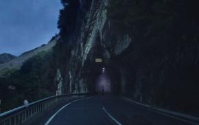 landscape, photo manipulation, road