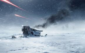 video games, AT, AT, Star Wars Battlefront, Star Wars