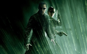 Neo, Keanu Reeves, The Matrix Revolutions, movies, Carrie, Anne Moss