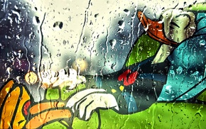 rain, Donald Duck, rest