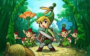 The Legend of Zelda, The Legend of Zelda The Minish Cap, video games, Link