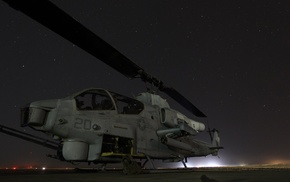 military aircraft, USMC, Bell AH, 1 SuperCobra, military, helicopters